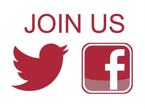 We're on Facebook & Twitter!