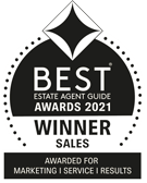 BEST ESTATE AGENT GUIDE AWARDS WINNER SALES 2021