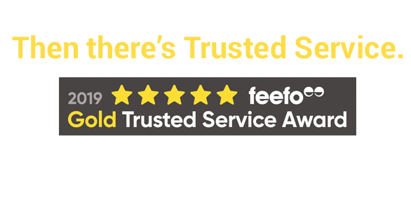 There is good service - Then there is trusted service
